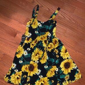 Forever 21 Sunflower Dress